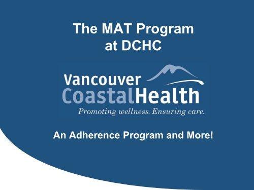 MAT Program - Pacific AIDS Network