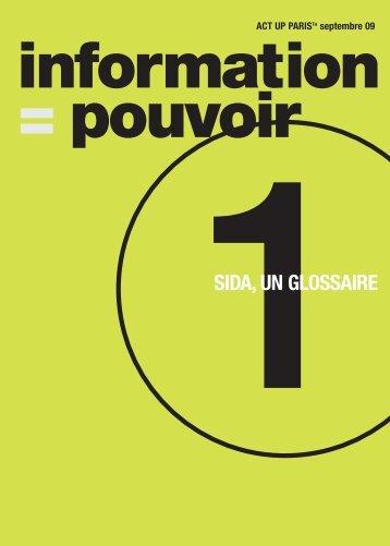 1SIDA, UN GLOSSAIRE - Act Up-Paris