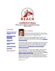 outREACH News - Pacific AIDS Network