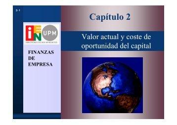 Finanzas de Empresa Capítulo2