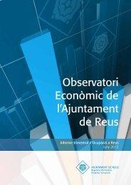 Informe Trimestral d'Ocupació a Reus. Juny 2012 - Ajuntament de ...