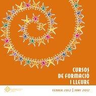 Activitats centres cívics (febrer-juny 2012) - Ajuntament de Reus