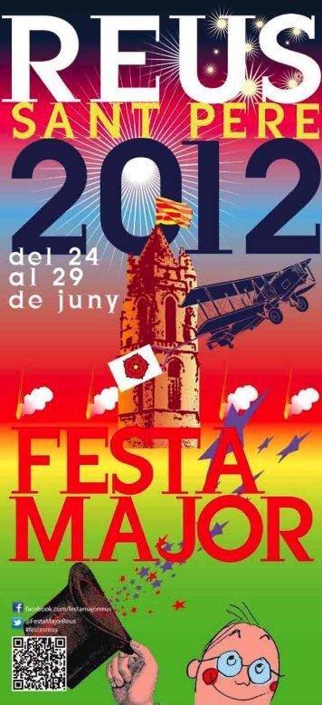 Programa de Sant Pere 2012 - Ajuntament de Reus
