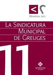 Memòria 2011.indd - Ajuntament de Reus