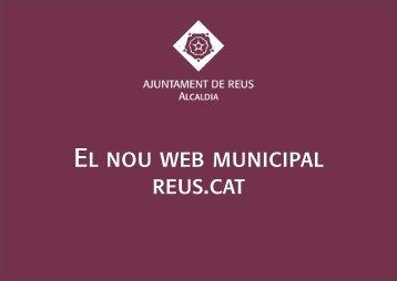 Presentació del nou lloc web Reus.cat - Ajuntament de Reus