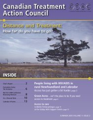 Summer - Canadian Treatment Action Council