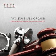 2013 EN Two Standards of Care - Canadian Treatment Action Council