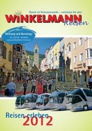 Reisekatalog als PDF - Winkelmann: Reisen