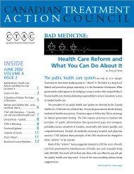 June - Canadian Treatment Action Council