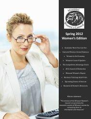 Spring 2012 Women's Edition - Missouri Women's Council