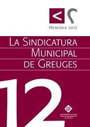 Memòria 2012.indd - Ajuntament de Reus