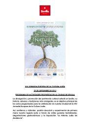 programa xiv jornada europea de la cultura judía - sevilla 2013