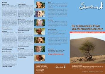 Die Lehren und die Praxis vom Sterben und ... - Women and Earth