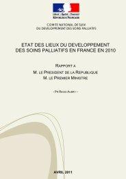 RAPPORT AU PRESIDENT DE LA REPUBLIQUE: ETAT ... - SFAP