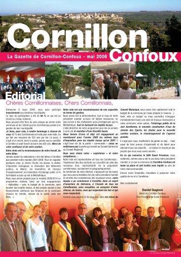 La Gazette de Cornillon-Confoux - mai 2008