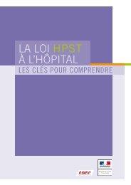 La Loi HPSt à L'HôPitaL : les clés pour comprendre - Ministère des ...