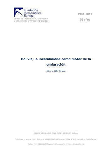 Bolivia, la inestabilidad como motor de la ... - El Diario Exterior