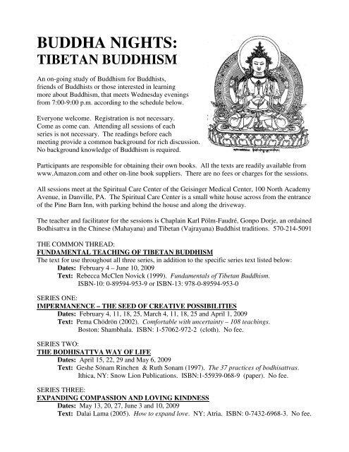buddha nights: tibetan buddhism