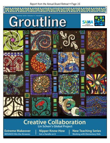 Creative Collaboration - Society of American Mosaic Artists