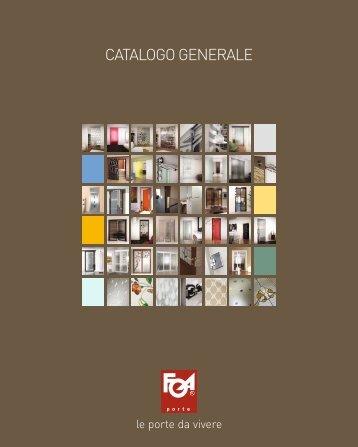 CATALOGO GENERALE