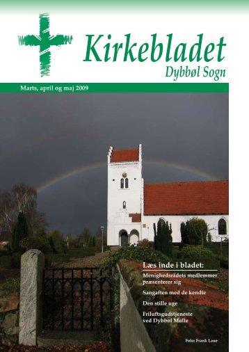Kirkebladet marts 2009 - Dybbøl Kirke