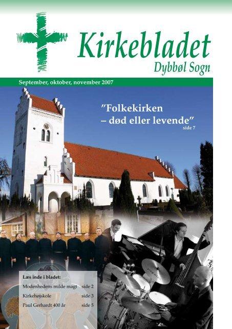 Kirkebladet september 2007 - Dybbøl Kirke