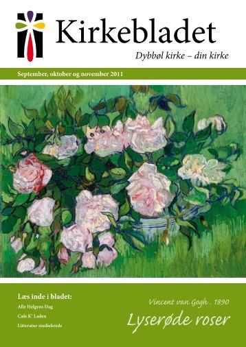 Lyserøde roser - Dybbøl Kirke