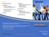 Nationalråd 2012 Gud er større... - Apostolsk Kirke i Danmark