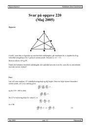 Svar på opgave 220 (Maj 2005) - Emu