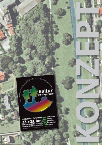 Konzept - Kultur im Bürgerpark