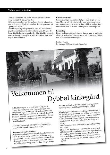 Kirkebladet juni 2007 - Dybbøl Kirke
