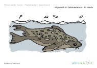 Klippeark til fødekædeuro - til vands - Mit Vadehav