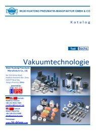 HUATONG Pneumatik Katalog Teil6: Vakuumtechnologie DEUTSCH