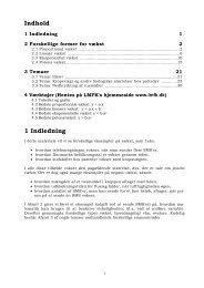 Matematik noter (pdf) - Emu