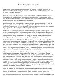 Article by Olga Sviblova - Reykjavik Art Museum