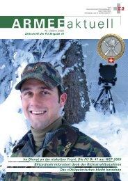 ARMEE Aktuell 1/2005 - Führungsunterstützungsbrigade 41 / SKS