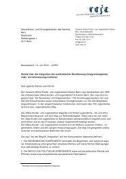 Stellungnahme Integrationsgesetz - VOJA