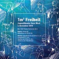 Ort: TOJO Theater Reitschule Bern Beginn: 19.00 Uhr ... - VOJA