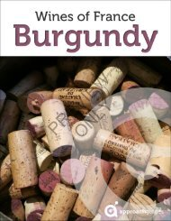 Burgundy - Approach Guides
