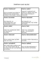 Vadehavs quiz og byt - Mit Vadehav