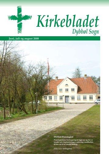 Kirkebladet juni 2008 - Dybbøl Kirke