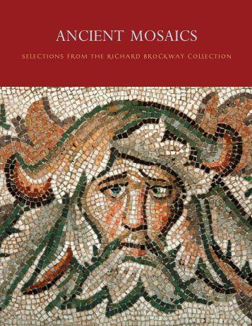 Ancient Mosaics Brochure - Ancient Art International