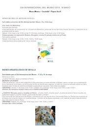 programación - Visita Sevilla