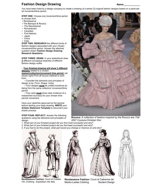 Fashion Design Drawing Pdf