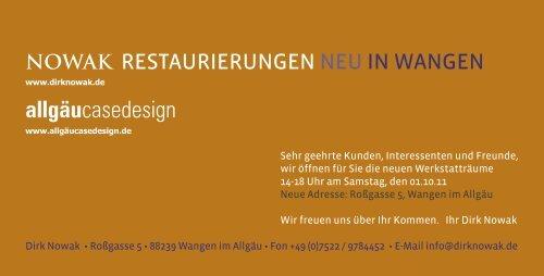 Download der Einladung - Dirknowak.de