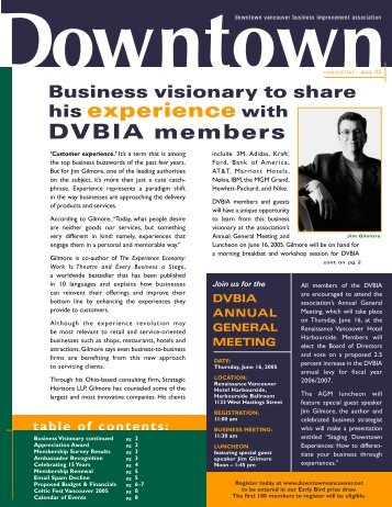 May newsletter F/A 3 - Downtown Vancouver Business Improvement ...