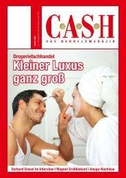 Kleiner Luxus ganz groß - Cash