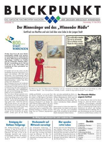 Blickpunkt Ausgabe 19-2012.pdf - Stadt Winnenden