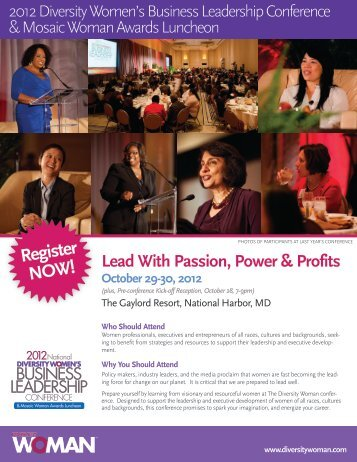 conference - Diversity Woman