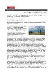 Domenica 23 Maggio 2010 PROVINCIA Pagina 32 BRENZONE e ...